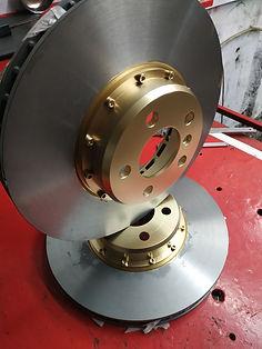 Изготовлние центральных частей томозного диска