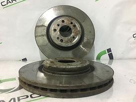 Замена передних дисков mercedes