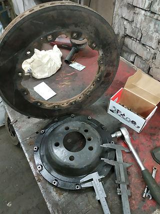 Замена тормозных роторов, ремонт составных тормоных дисков