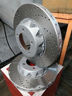 Изготовление составных тормозных дисков