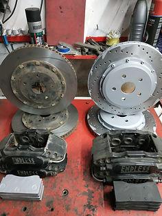 Изготовление тормозных колодок на заказ, изготовление составных тормозных дисков