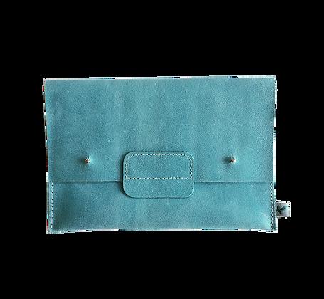 Pochette de voyage Polly bleu caraïbe
