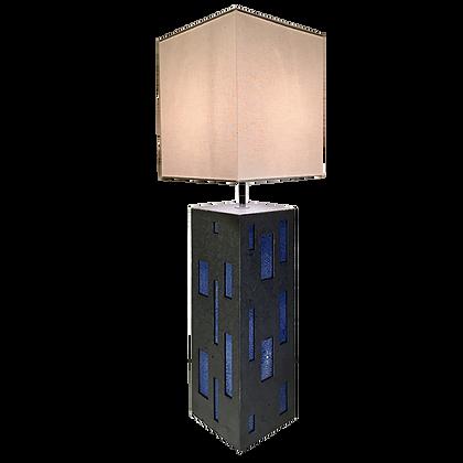 Lampe Senlisse bleue