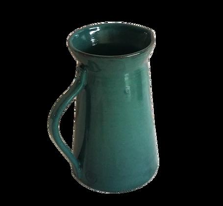 Pichet bleu vert