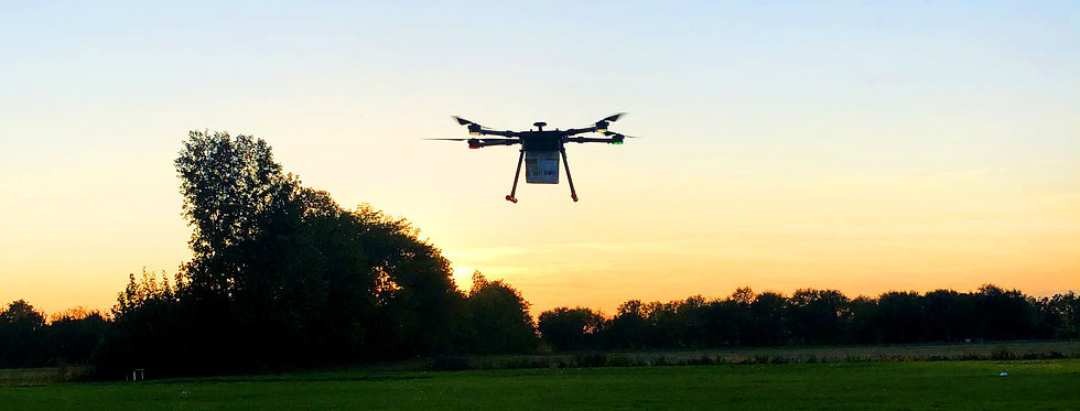 KUR drone delivery