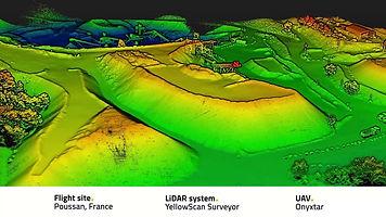 Mining laser scanner LIDAR