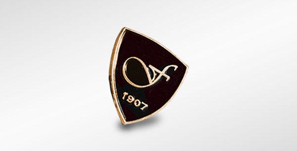 """FINDEISEN pin """"Max"""" antique gold"""