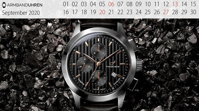 Findeisen Uhr des Monats Königsberg Chronograph