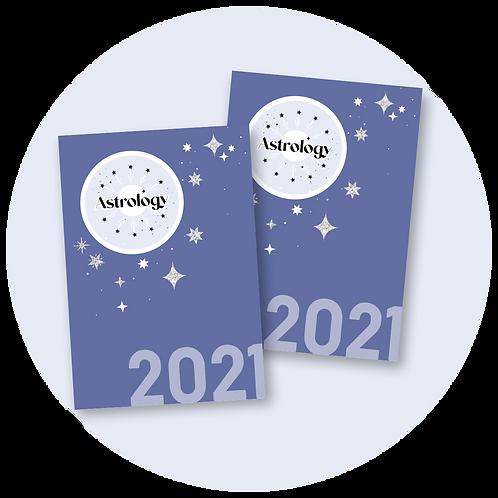 Astrology 2021 Calendar