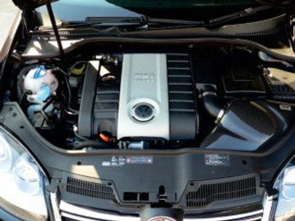 GruppeM Volkswagen Golf GTI carbon fiber ram air intake system