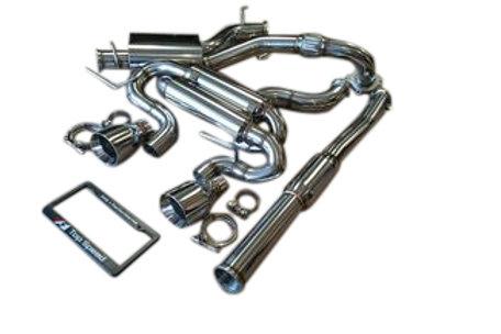 VW Golf R 2.0T MK6 12-13 Performance Turbo Back Exhaust System