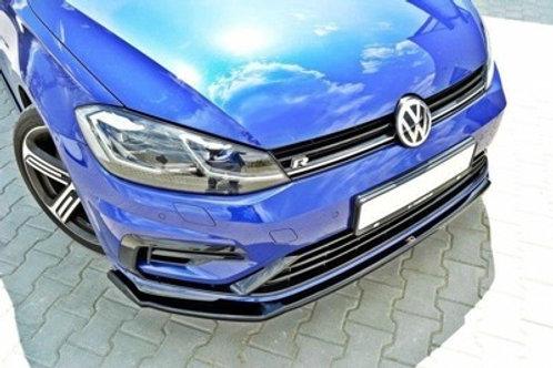 FRONT SPLITTER v.2 VW GOLF VII R (FACELIFT)