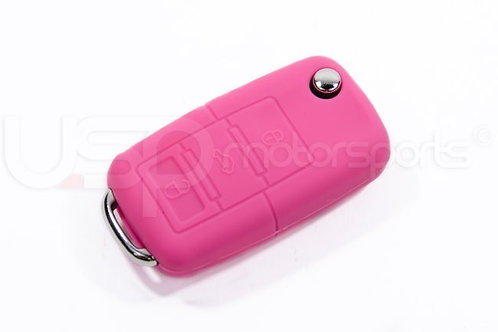 Silicone Key Fob Jelly (VW Models)- Pink Dress your key up and protect it from t