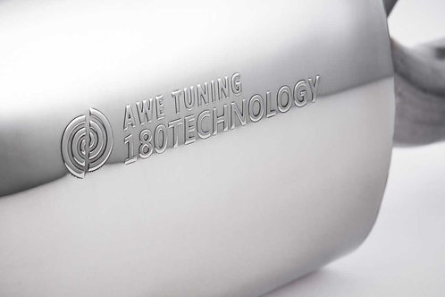 AWE Tuning Track Edition Exhaust - Polished Silver Tips For Mk6 Jetta 2.5L