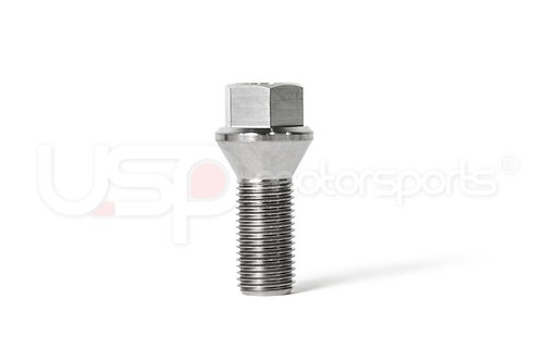 USP Titanium Conical Seat Wheel Bolt - 27mm Lightweight High Performance Bolt