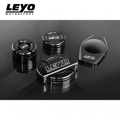 LEYO Motorsport - Full Aluminum Oil And Water Caps
