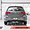 Thumbnail: AWE Touring Edition Exhaust for VW MK7 Golf 1.8T - Diamond Black Tips (90mm)