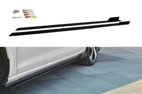 VW GOLF VII GTI (FACELIFT) - RACING SIDE SKIRTS DIFFUSERS