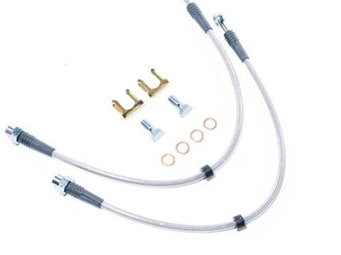 USP Stainless steel Front Brake Lines For MK4 w/Porsche calipers