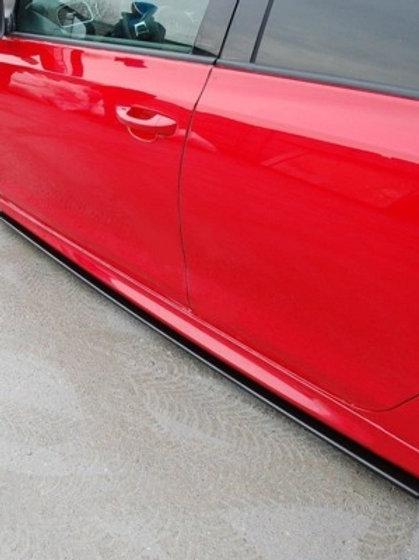 SIDE SKIRTS DIFFUSERS VW GOLF VI GTI 35TH / R20