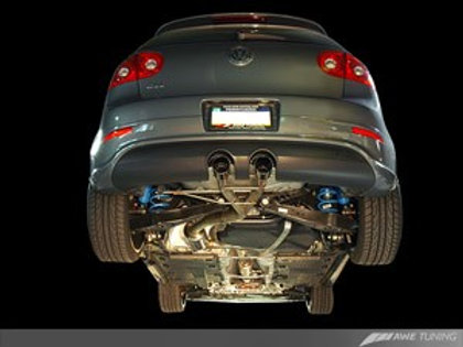 """AWE """"R32 Style"""" Performance Exhaust System for MK5 GTI - Polished Silver Tips"""