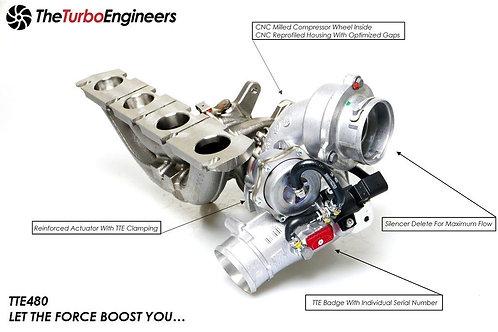 TTE480 Upgrade Performance Turbocharger VAG For 2.0 TFSI