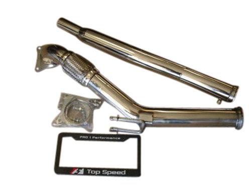 VW Golf GTI Jetta MKV 2.0L 06-11 Audi A3 FSI Turbo Down Pipe