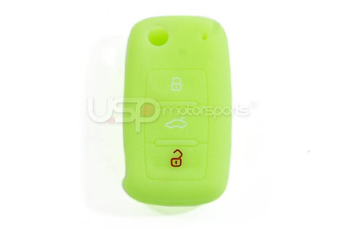 Silicone Glow In The Dark Key Fob Jelly (VW Models)- Yellow Easily find your key
