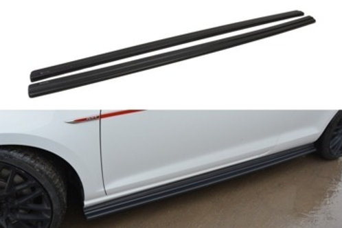 SIDE SKIRTS DIFFUSERS VW GOLF VII GTI PREFACE/FACELIFT