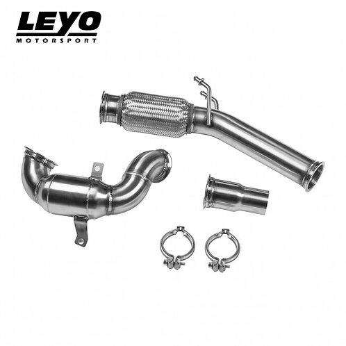 LEYO Motorsport - High Flow Racing Downpipe (200 CELL)