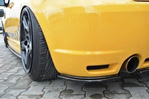 REAR SIDE SPLITTERS VW GOLF IV R32