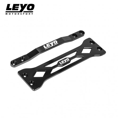 LEYO Motorsport - Billet Aluminum Chassis Bar (Black)