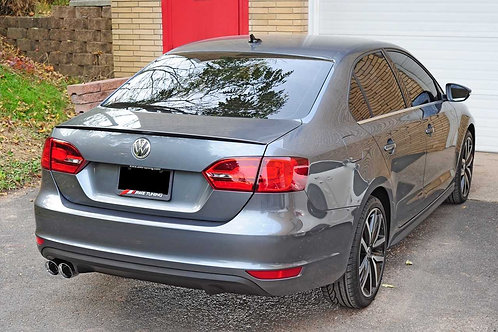 AWE Tuning Track Edition Exhaust - Polished Silver Tips For MK6 GLI 2.0T