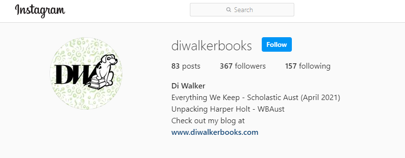 Di Walker Books Instagram