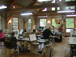 Watercolor Instruction at Landgrove Inn
