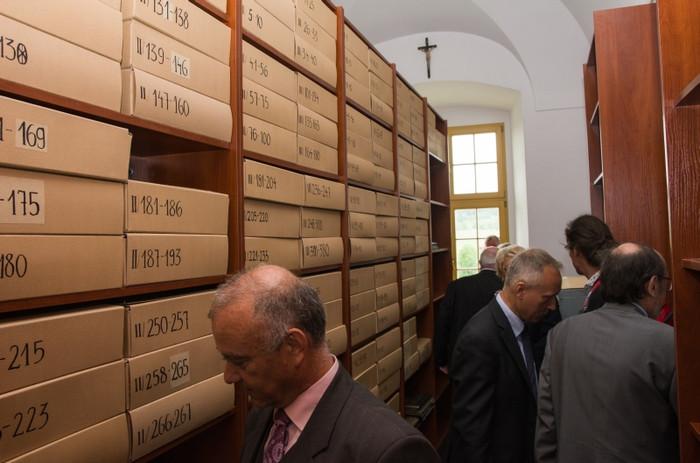 Das Archiv nach der Katalogisierung