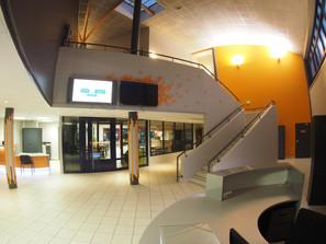 Hall d'entrée du Groupe FIM