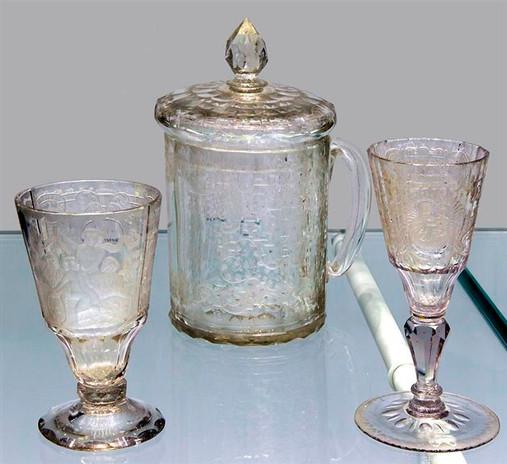 Hirschberg Glas-Set
