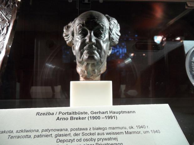 Gerhard Hauptmann Büste