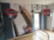 Entreprise Société Allo DEKO st lo chambre londres peinture mur végétal papier peint enduit sol PVC parquet moquette peintre bâtiment revetement décoration intérieur peinture faïence carrelage