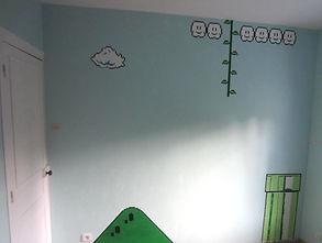 Entreprise Société Allo DEKO st lo chambre mario peinture mur végétal papier peint enduit sol PVC parquet moquette peintre bâtiment revetement décoration intérieur peinture faïence carrelage allodeco