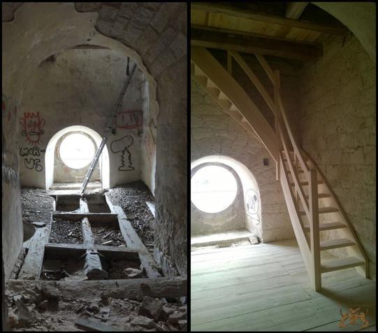 Sanierung des Turmes