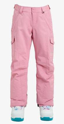 バートン キッズ【elite cargo pant】Sサイズsea pink