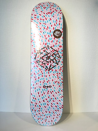 スケートボードmagenta【HYPERCUBE】7.875 X 31.5