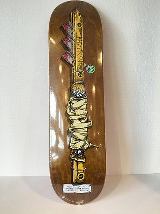 スケートボードantihero【shanks】8.12×31.38