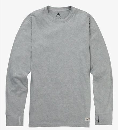 バートン ファーストレイヤー【 Midweight Base Layer Crew】SサイズMonument Heather