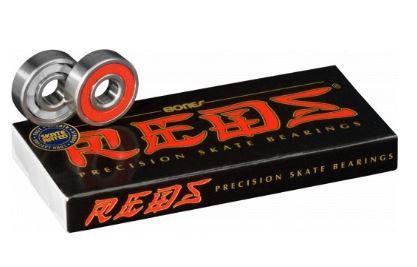 スケートボードベアリングbonesボーンズ【REDS 】