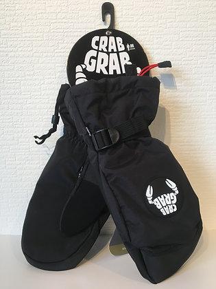 クラブグラブcrabgrab【cinch mitt】Mサイズblack