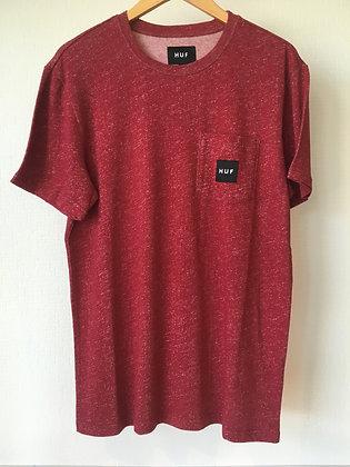 ハフHUF Tシャツ【heather box logo】Mサイズ