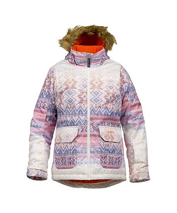 BURTON GIRL'S WILLOW JACKET【FADE FAIR ISLE PRINT】Mサイズ